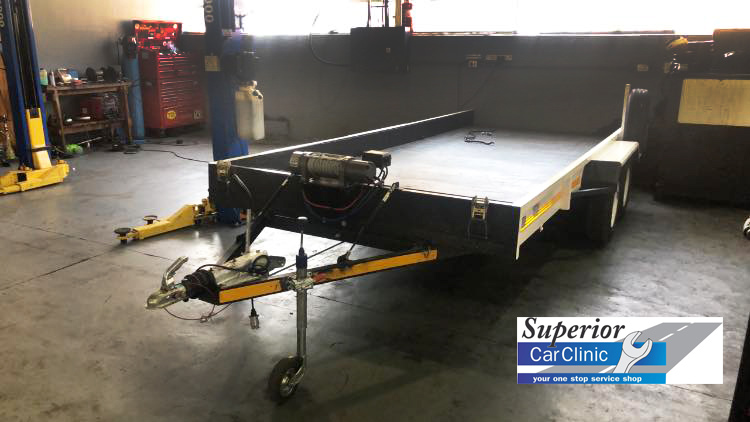 Flatbed Trailer Towing Service Edenvale